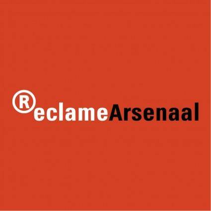 free vector Reclame arsenaal