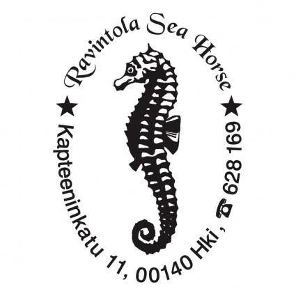 free vector Ravintola sea horse