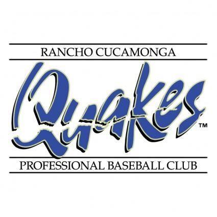 free vector Rancho cucamonga quakes