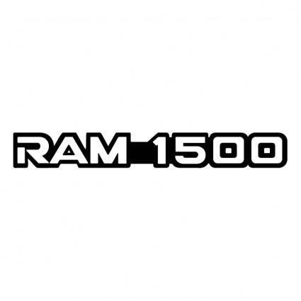 free vector Ram 1500