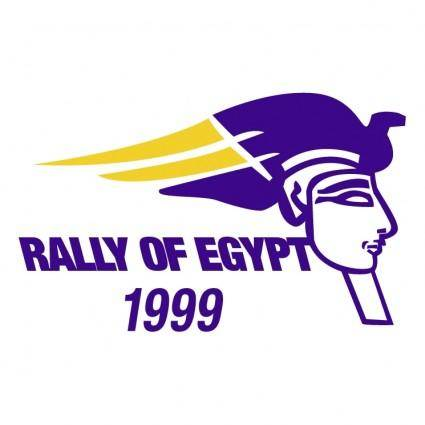 free vector Rally of egypt