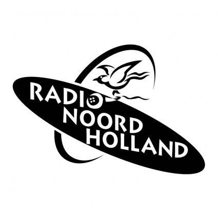 free vector Radio noord holland