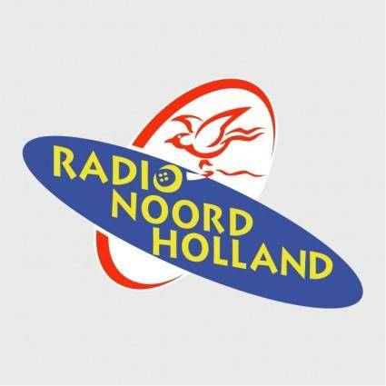 free vector Radio noord holland 0