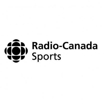 free vector Radio canada sports
