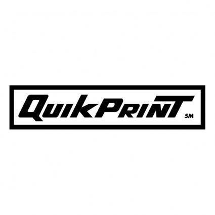 free vector Quik print