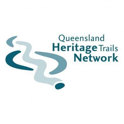 free vector Queensland heritage trails network