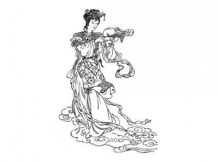 Fairy vector 6498