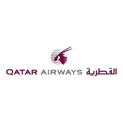 free vector Qatar airways