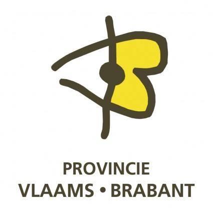 free vector Provincie vlaams brabant