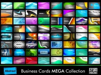free vector The exquisite card design 01 vector