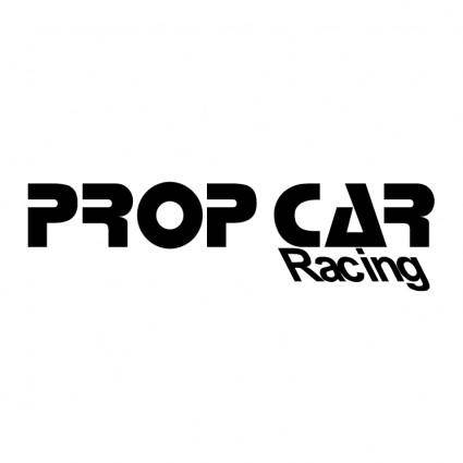 Prop car racing