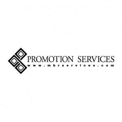 free vector Promotion services