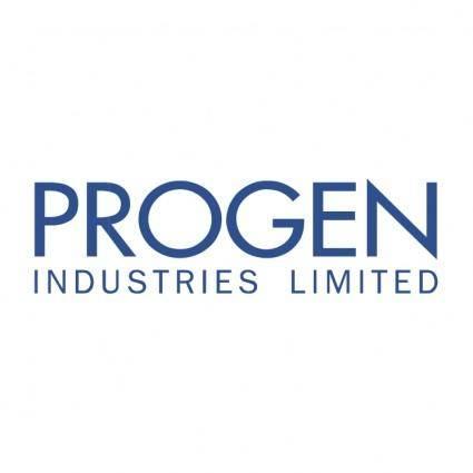 free vector Progen industries