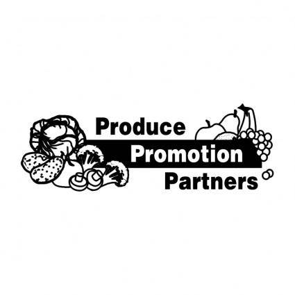 free vector Produce promotiom partners