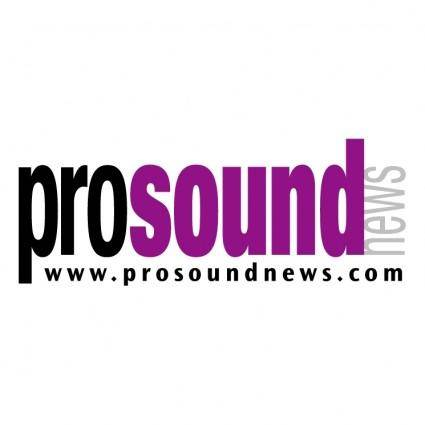 Pro sound news