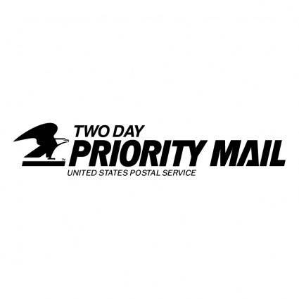 free vector Priority mail 0