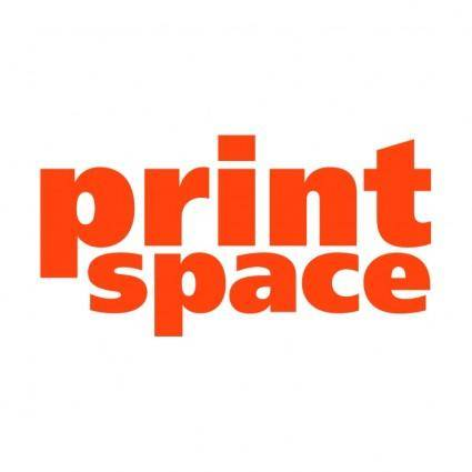 Print space