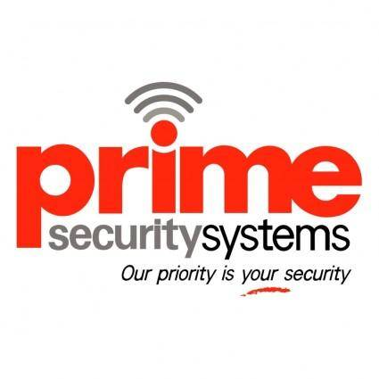 Prime security systems