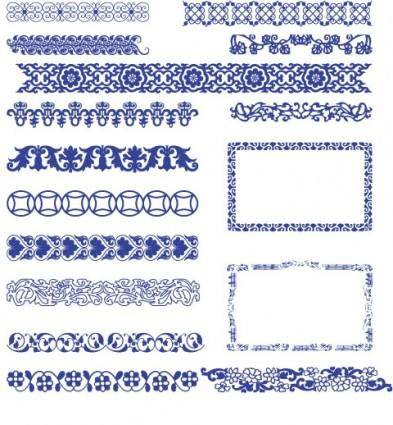 free vector Classical style border vector