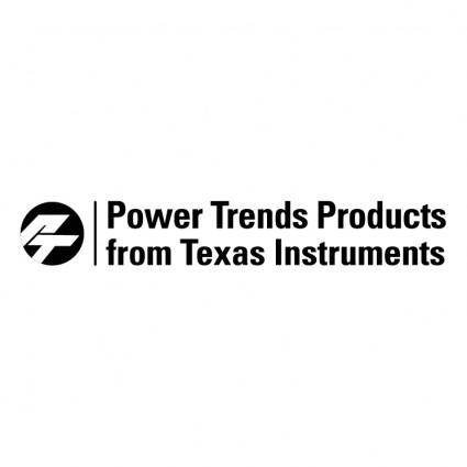 Power trends products