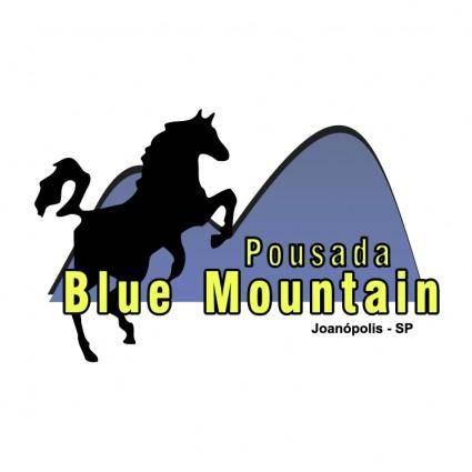 free vector Pousada blue mountain