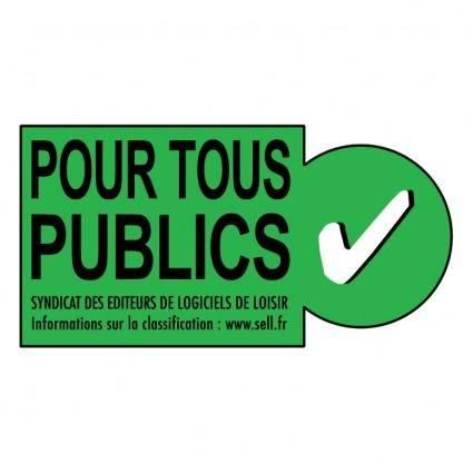 free vector Pour tous publics