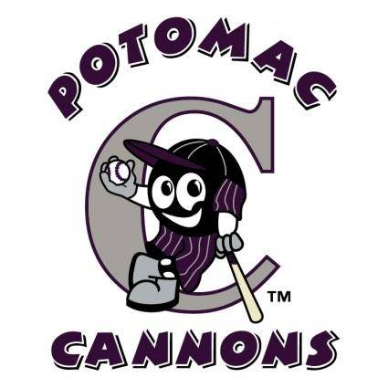 free vector Potomac cannons