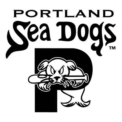 free vector Portland sea dogs