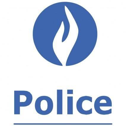 free vector Police belge