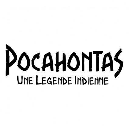 free vector Pocahontas