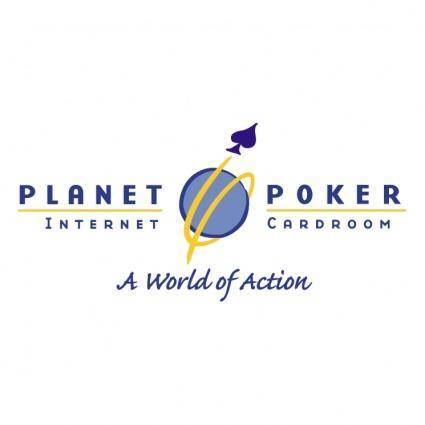 free vector Planet poker