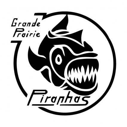 free vector Piranhas club