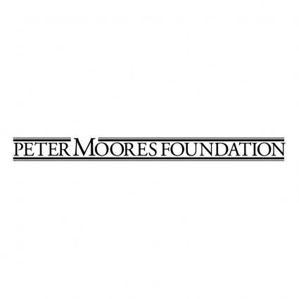 Peter moores foundation
