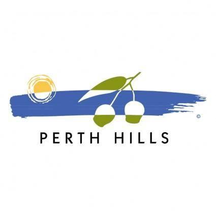 free vector Perth hills