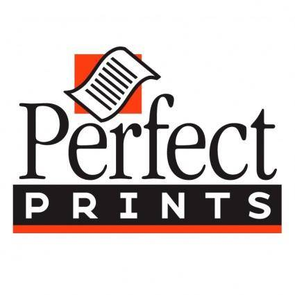 free vector Perfect prints