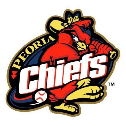 free vector Peoria chiefs 0
