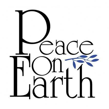 free vector Peace on earth