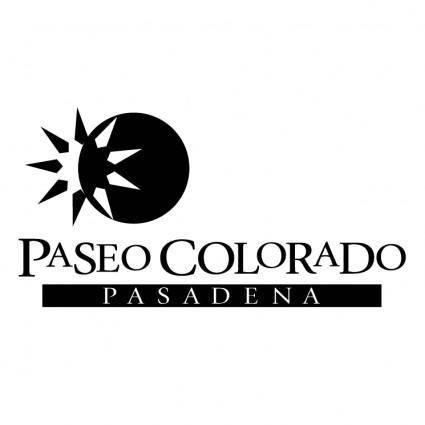 free vector Paseo colorado