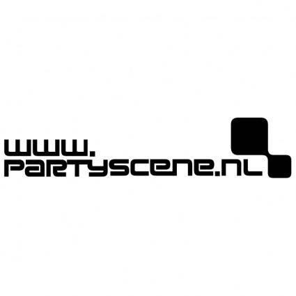 free vector Partyscenenl