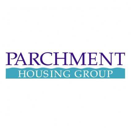 free vector Parchment housing group