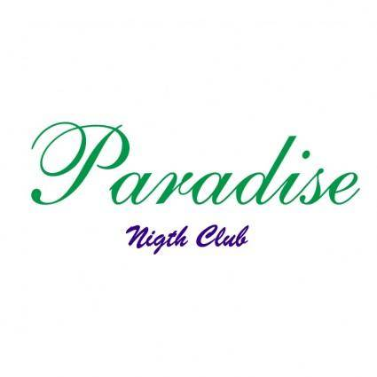 free vector Paradise nigth club
