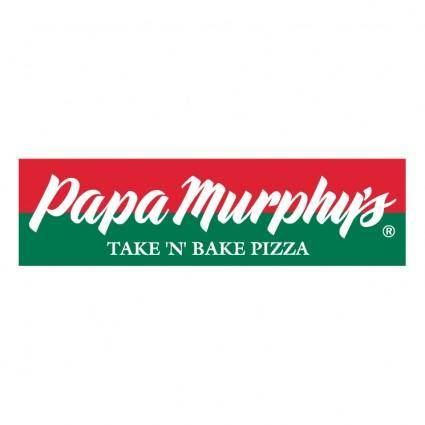 free vector Papa muphys pizza