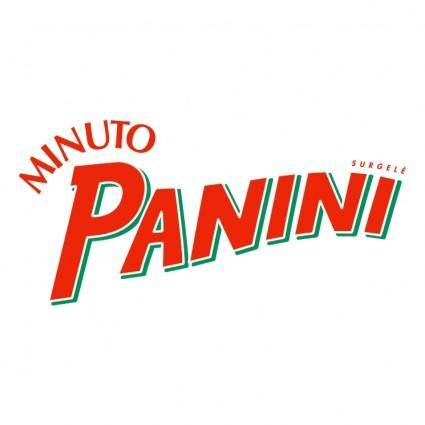 free vector Panini minuto