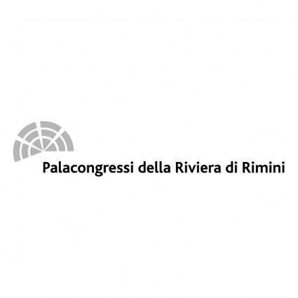 free vector Palacongressi della riviera di rimini