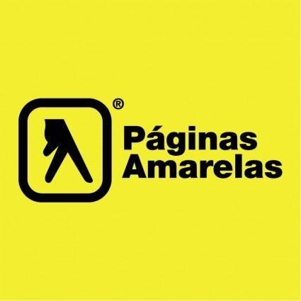 free vector Paginas amarelas