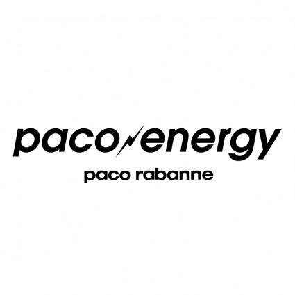 free vector Paco energy