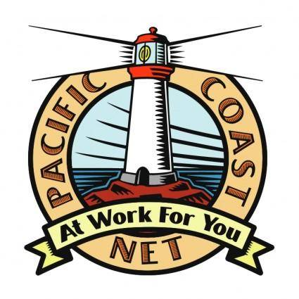 free vector Pacific coast net