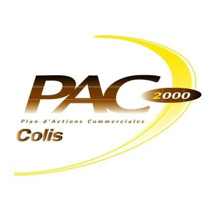 free vector Pac colis 2000