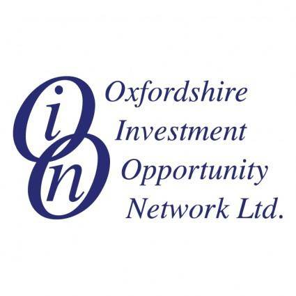 Oxfordshire investment opportinity network