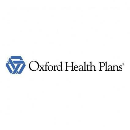 free vector Oxford health plans